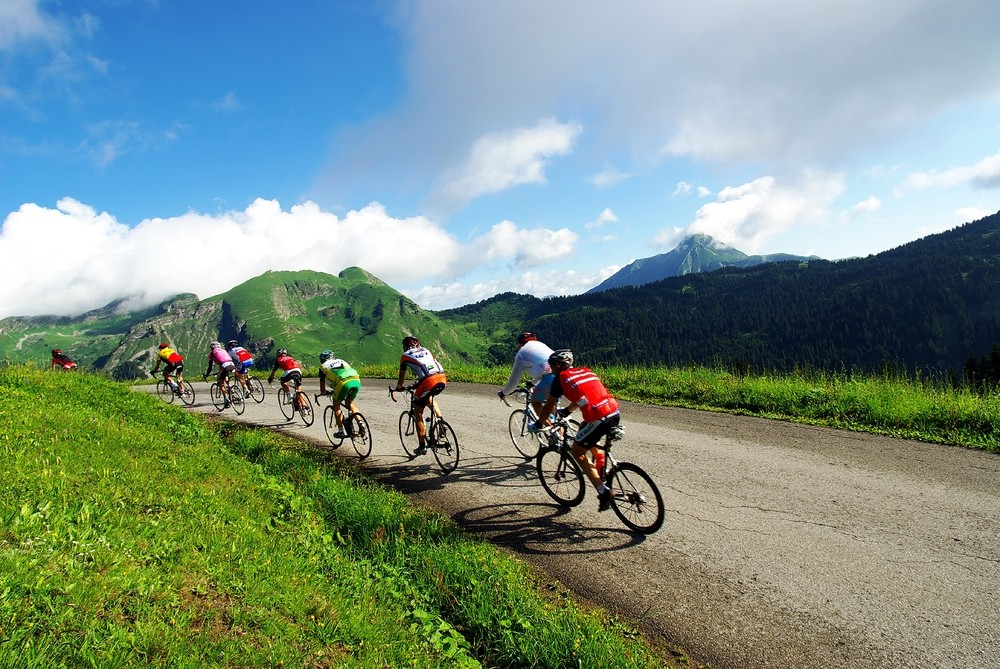 Road biking around Morzine – the famous climbs!