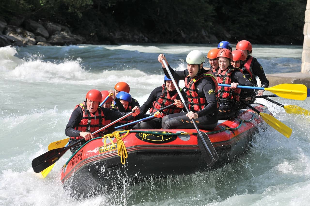 White Water Rafting in the Portes du Soleil