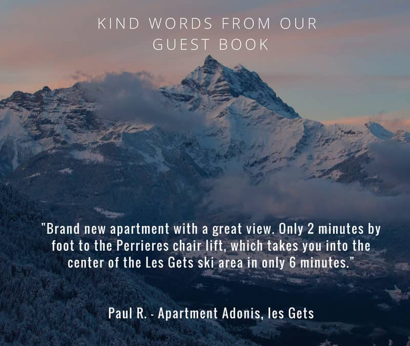 Where to stay in les Gets – Apartment Adonis